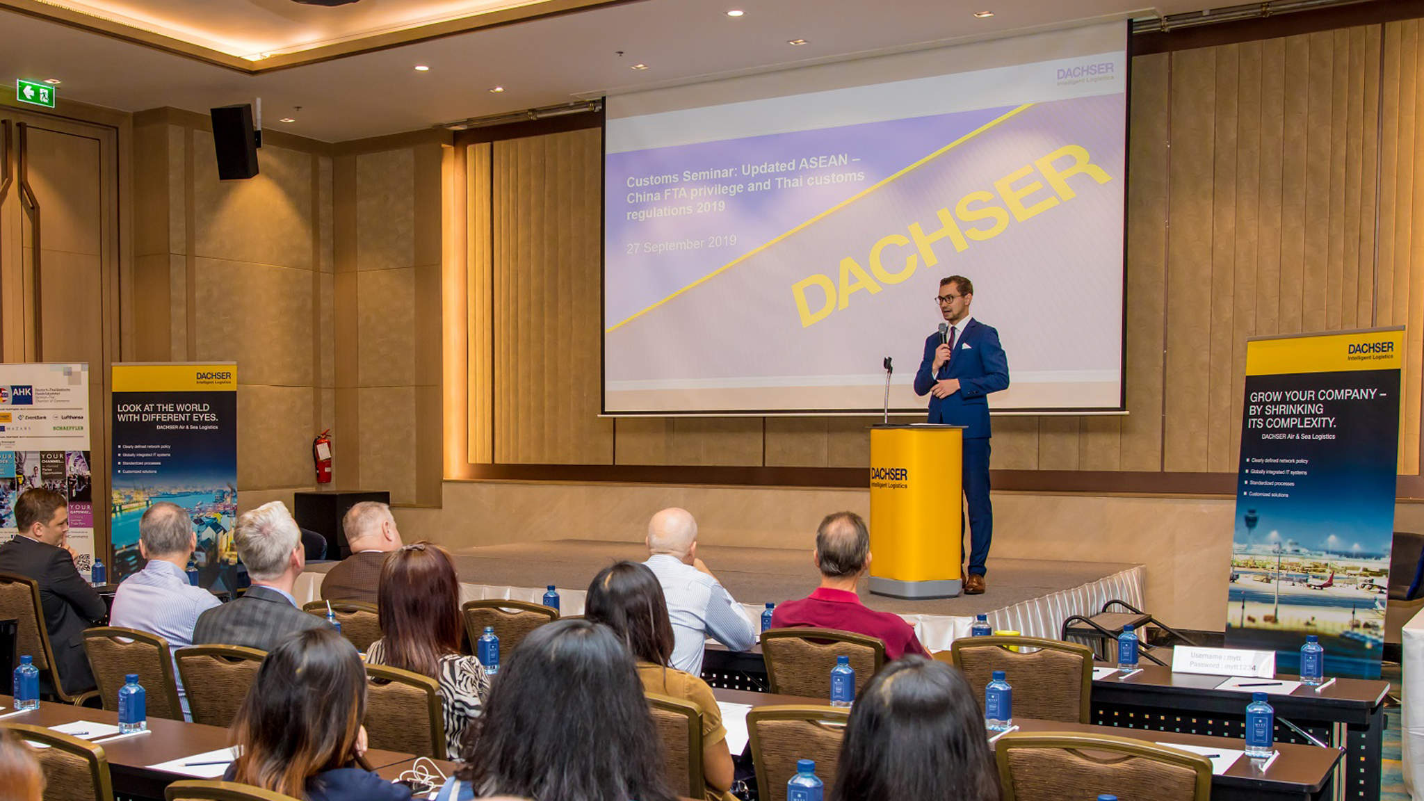 DACHSER Thailand hosted a customs clearance seminar focusing on the changes in customs clearance regulations brought by the upgraded ASEAN-China Free Trade Area.